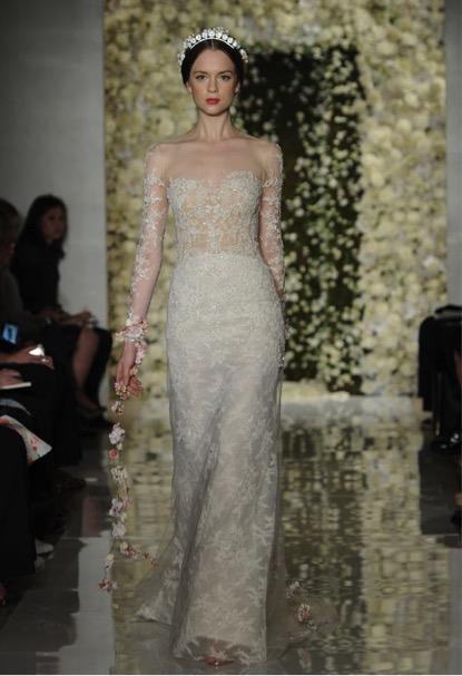 Modern Bride Romantic Dress