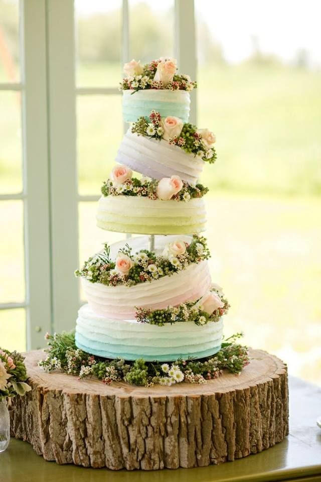 20 Wedding Cake Inspirations that Will Get your Guests Talking ...