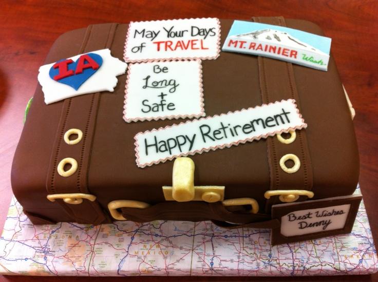 Retirement Cake 1