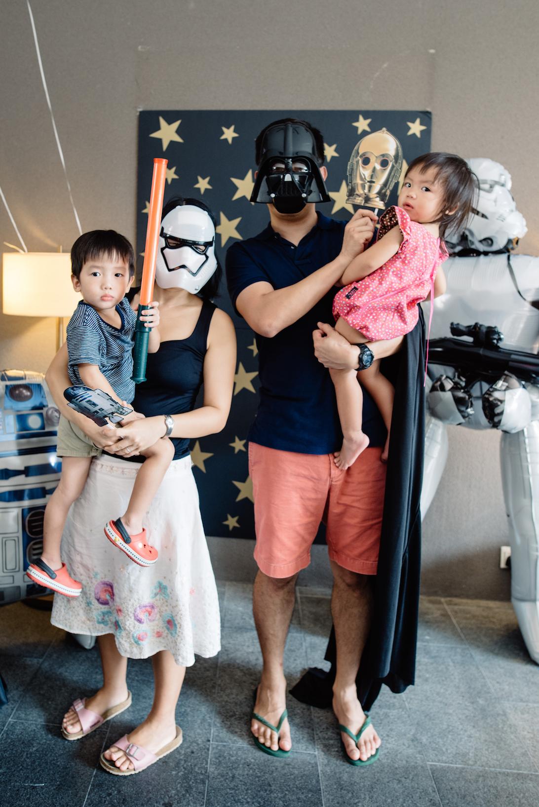 Lukes Skywalker Party-16