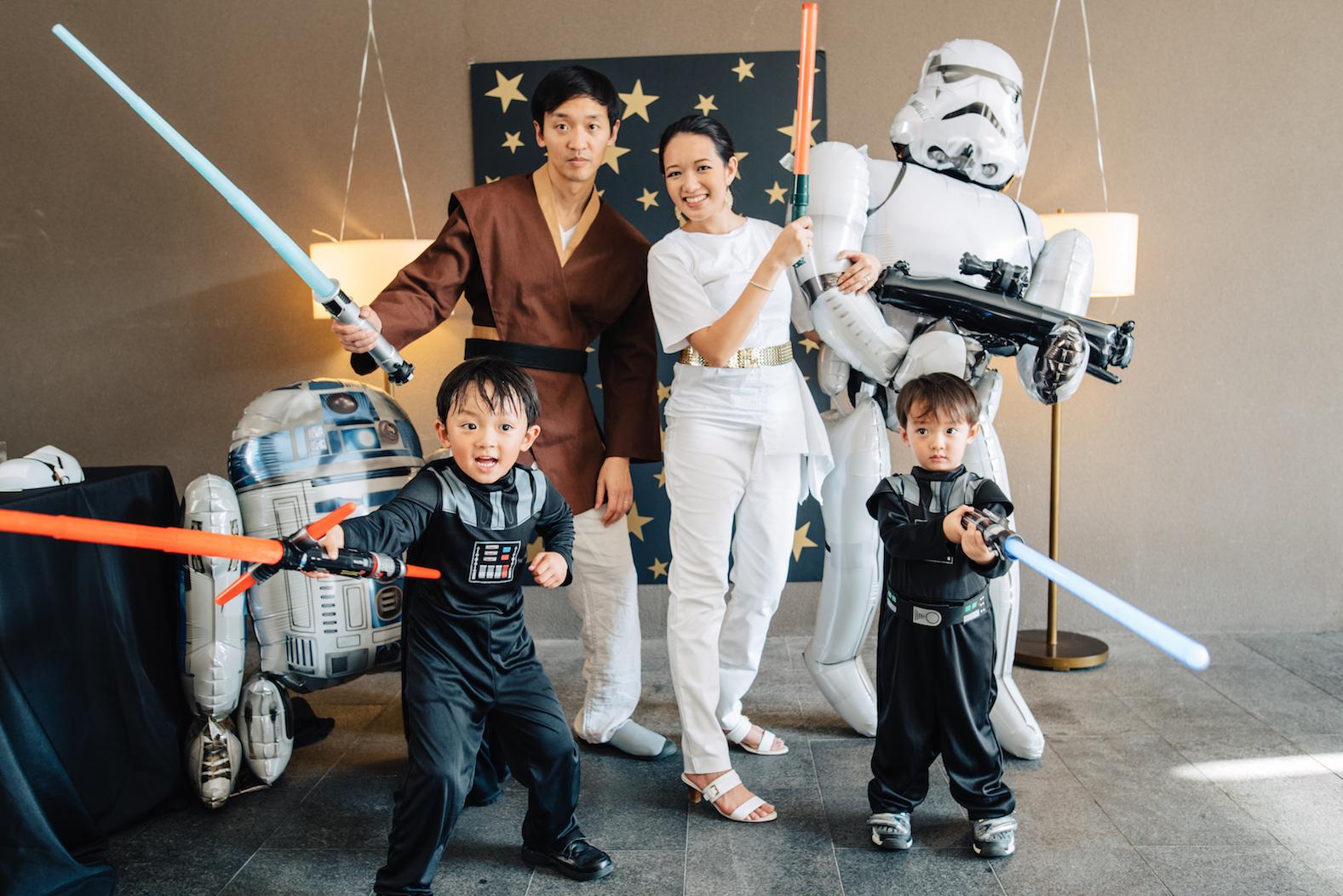 Lukes Skywalker Party-23
