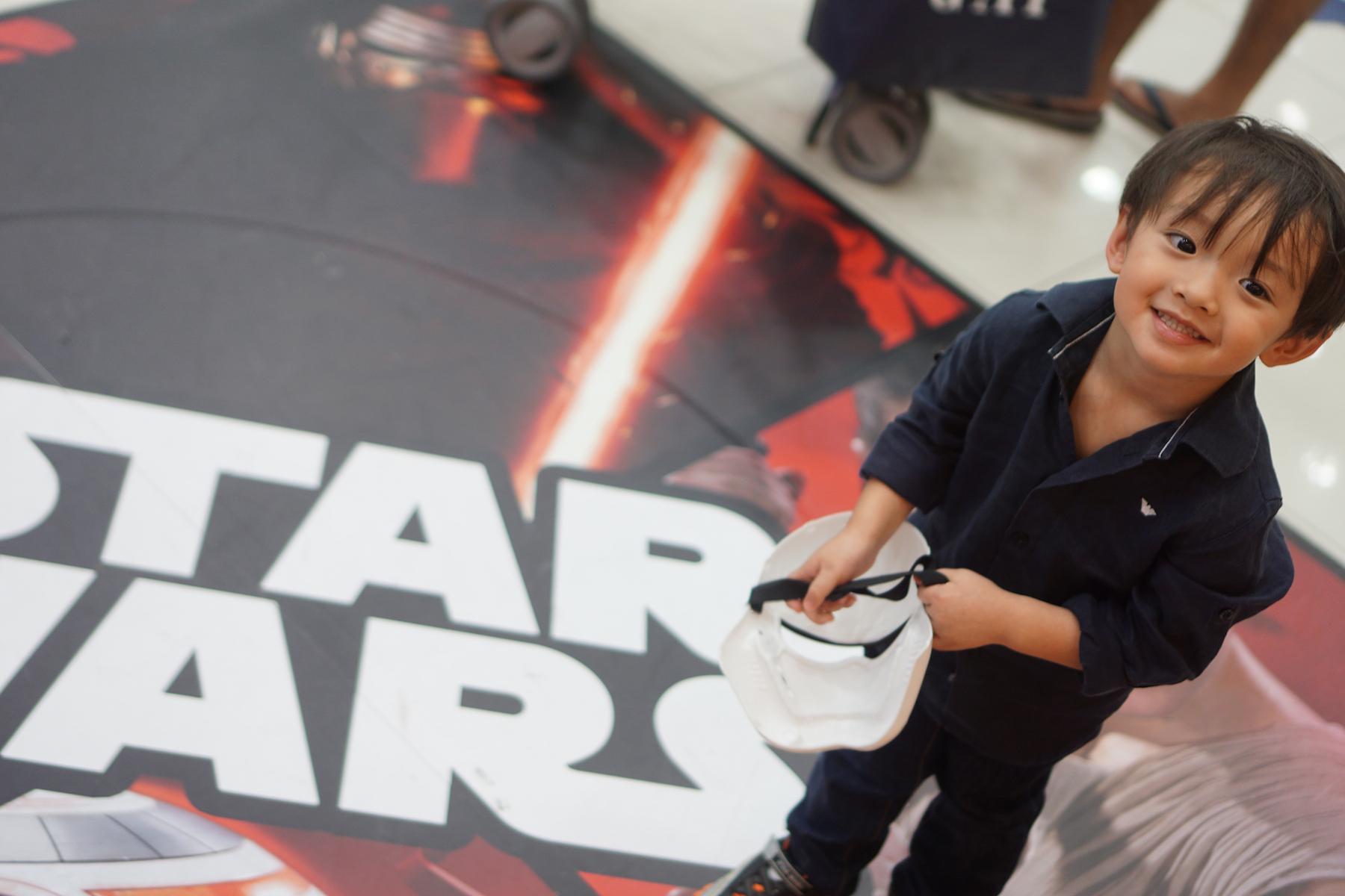 Lukes Skywalker Party-3