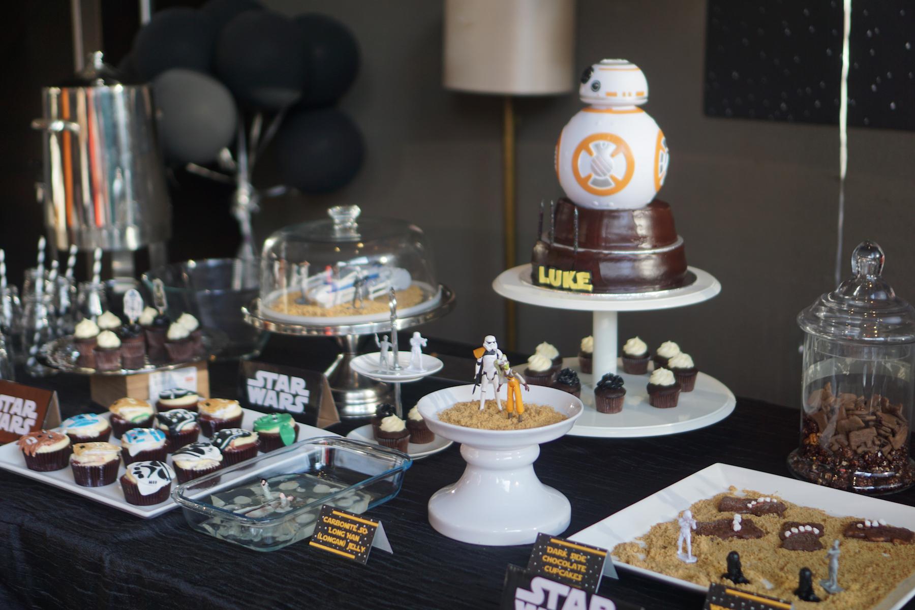 Lukes Skywalker Party-35