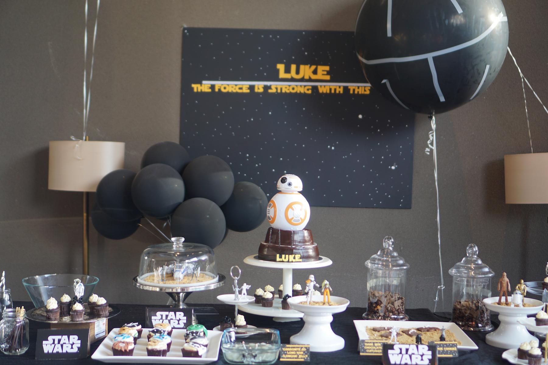 Lukes Skywalker Party-39