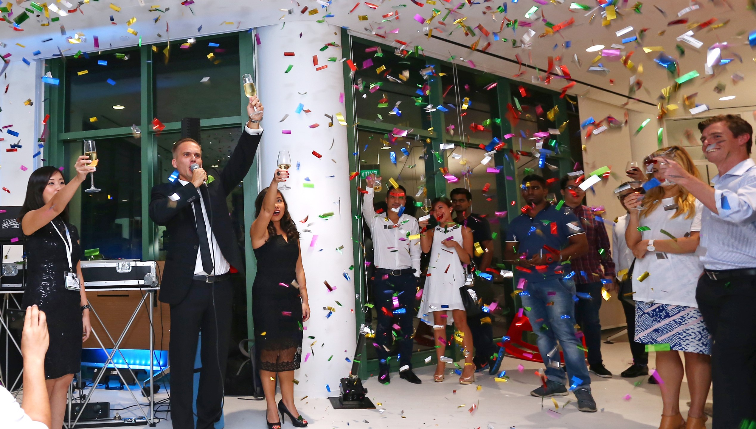Showroom officially launched