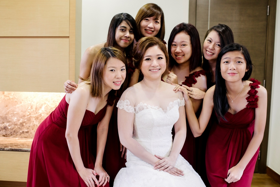 Zhida Pingyi Singapore Wedding Fullerton Hotel