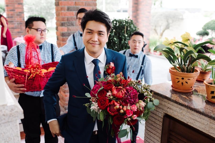 Zhida Pingyi Singapore Wedding Fullerton Hotel