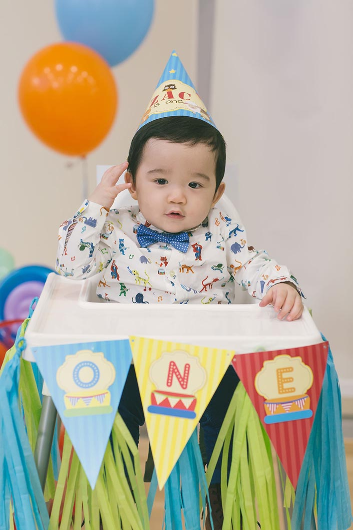 Sweet Happy Baby Animals Themed 1 Year Old