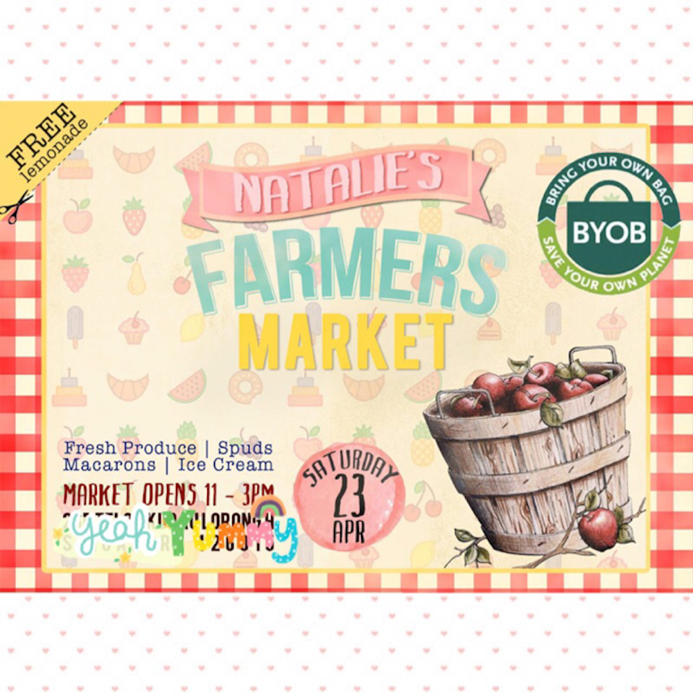 Natalie's Farmer's Market Birthday Party 1
