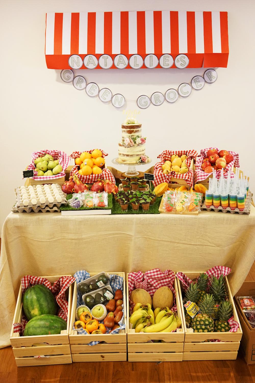 Natalie's Farmer's Market Birthday Party 2
