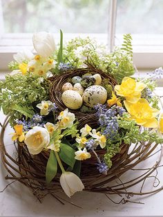 spring-decor-nest-centerpiece-2