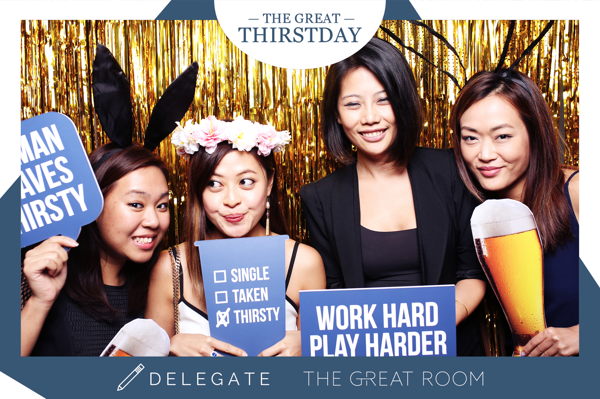 Delegate x The Great Thirstday8