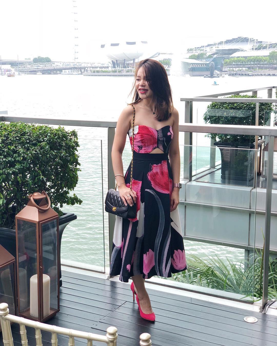 Xue Er in Rachel Roy