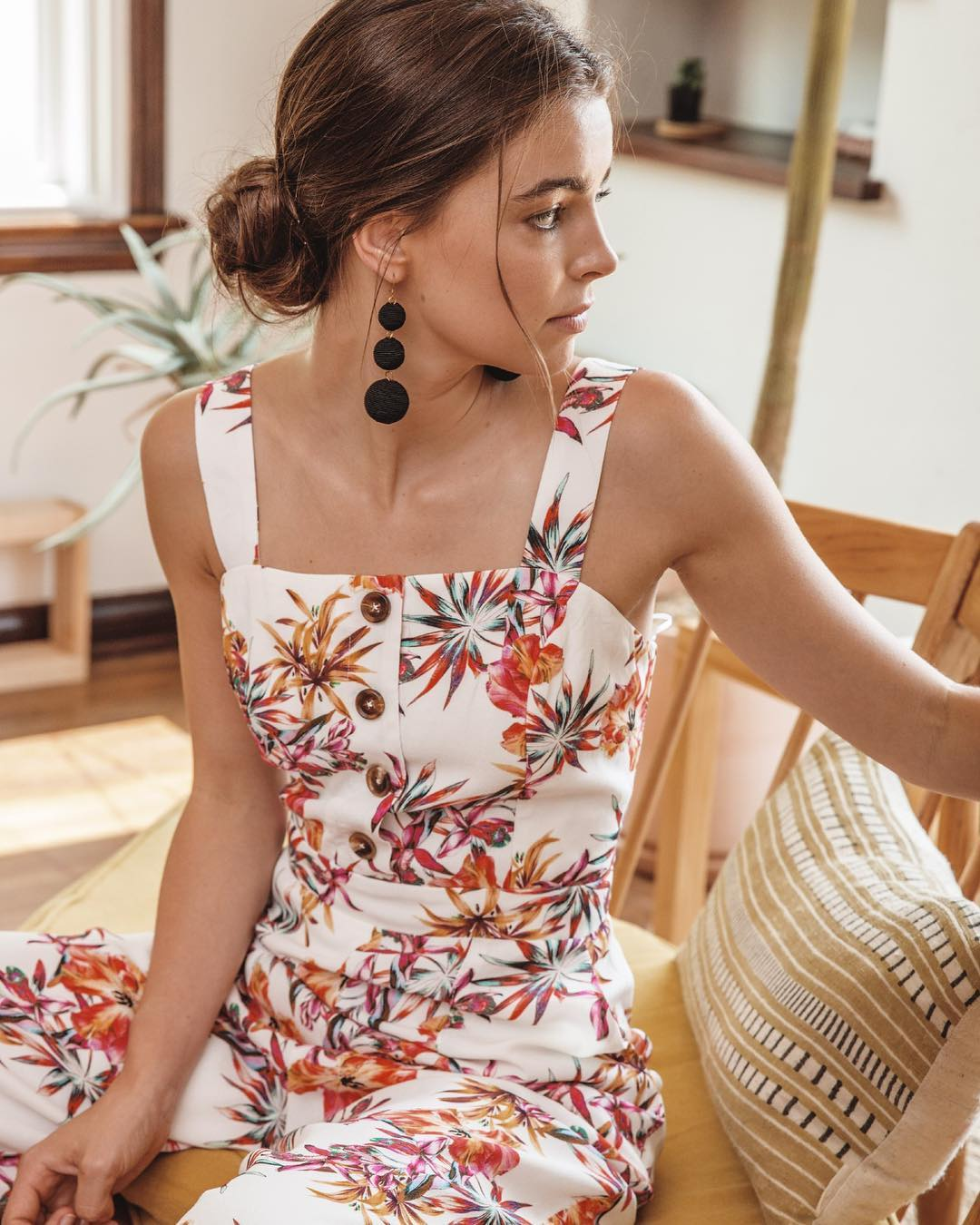 adelyn rae Eloise adelyn-rae-eloise-woven-printed-culottes